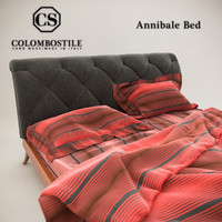 3d model colombostile annibale bed