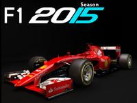 ferrari sf15 2015 3d model