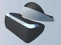 3d model sony project morpheus