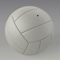 3d obj volleyball ball