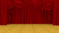 theater curtains 3d 3ds
