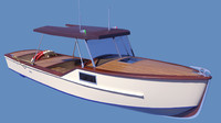 fishing boat 3d x