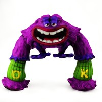 monster character 3d 3ds