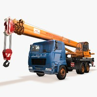 crane camc 3d model