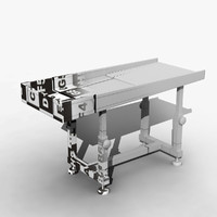 airport tray modeled 3d model