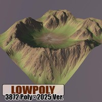 maya mountain maps terrain