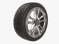 car tire 3ds