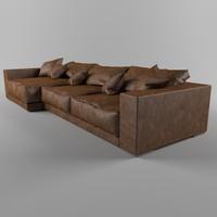sofa soft 3d model