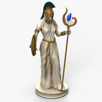 Mage Statue