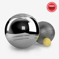 petanque balls 3ds