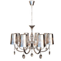3d model art deco chandelier