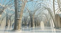 architectural structure scene interior 3d max