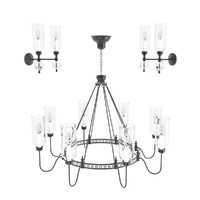 3d model of chandelier elegant