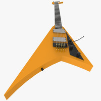 electric guitar 3d ma