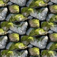 Mossy stone wall 2