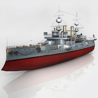 3d max hms triumph 1903 world war