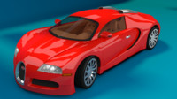 3d model of bugatti veyron