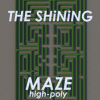 3ds max hedge maze shining high-poly