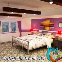 3dsmax bedroom