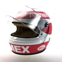 3d nelson piquet helmet 1983