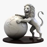 max lion statue