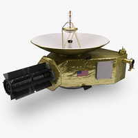 new horizon spacecraft nasa 3d 3ds