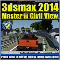 3ds max 2014 Master in Civil View vol. 29 cd front