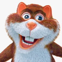 fur chipmuck 3d model
