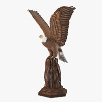 realistic eagle sculpture max