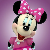 minnie mouse 3d model