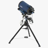 lx850 telescope meade 3d max