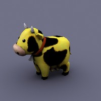funny fun cartoon 3d model