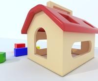 3d model toy box