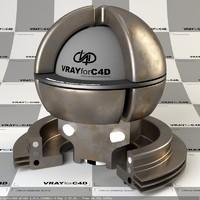 Corten VrayforC4D material