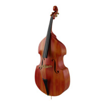 3d model bass contrabass