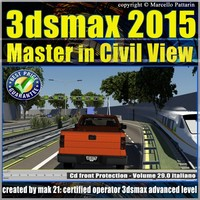 3ds max 2015 Master in Civil View vol. 29 cd front