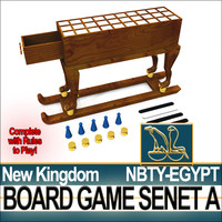 Ancient Egypt NK Board Game Senet A