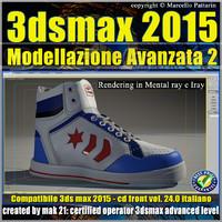 3ds max 2015 Modellazione Avanzata 2 v.24 Italiano cd front