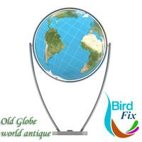 3dsmax globe