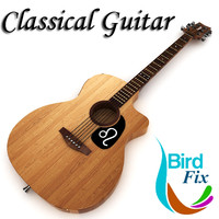 classical guitar 3ds