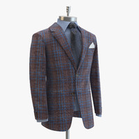 Domenico Vacca Brown Suit