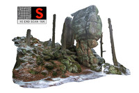 max stone boulders scanned