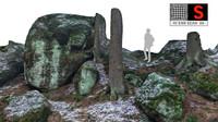 3d color scan nature