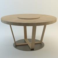 3d model seven sedie modern