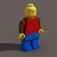 lego man 3ds