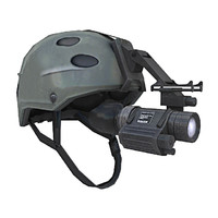 3d model special forces helmet