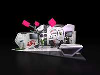 maya exhibition booth design