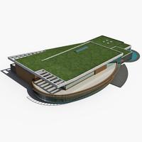 3d sports complex
