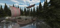 Viking Medieval ships