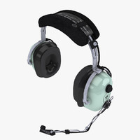 3d david clark headsets pilots